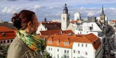 Bild: Blick auf Erfurt