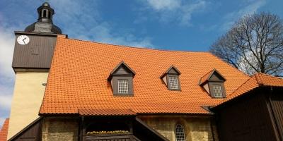 Bild: Traukirche von Bach in Dornheim bei Arnstadt
