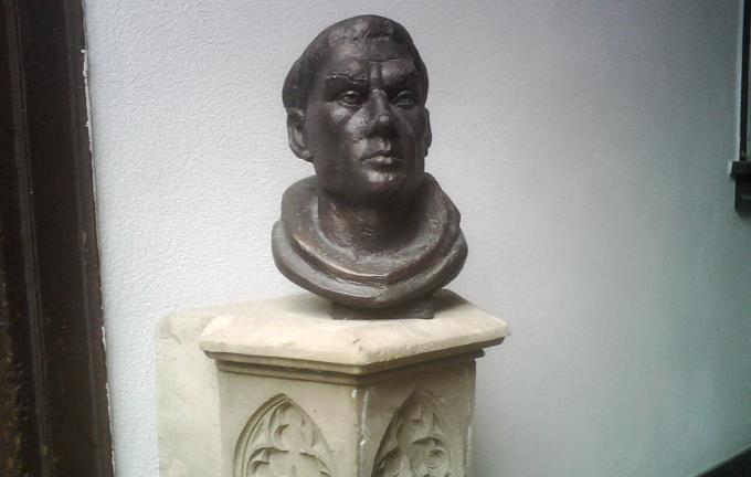 Büste Martin Luthers