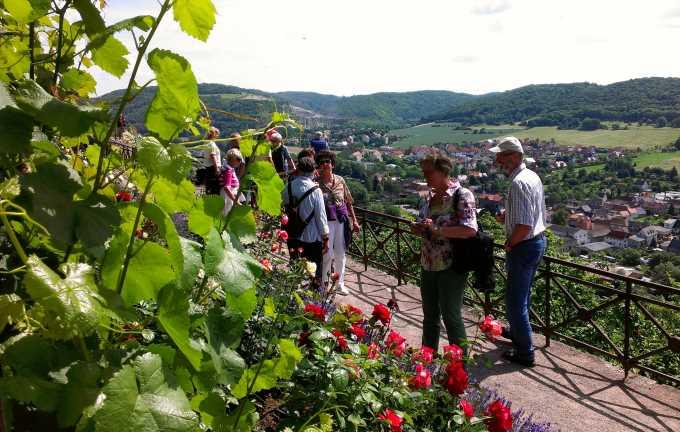 Fahrt ins Thüringer Weingebiet